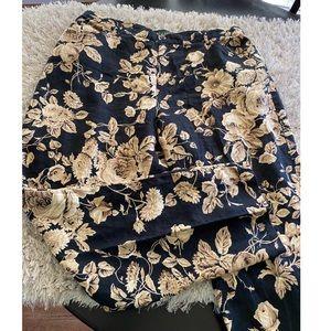Ralph Lauren Linen Floral Pants Size 16W